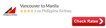 Vancouver to Manila Air Tickets