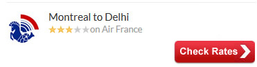 Montreal to Delhi Air Tickets