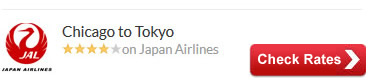 Chicago to Tokyo Air Tickets